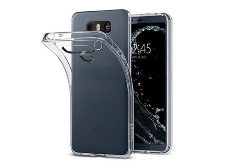 Capa silicone LG G6 H870 - Transparente