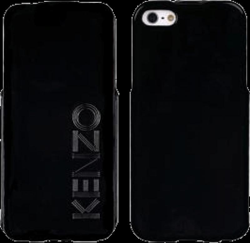 Capa Flip Case Kenzo iPhone 5 e 5S - Preto
