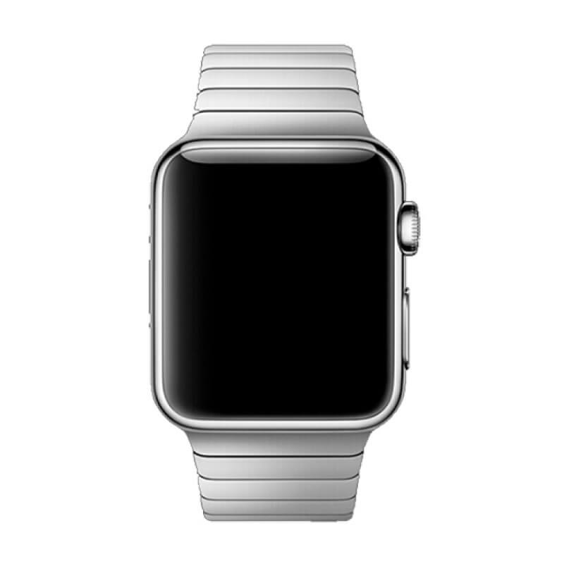 Bracelete Apple Watch 44mm Elegant Devia Link - Prateado