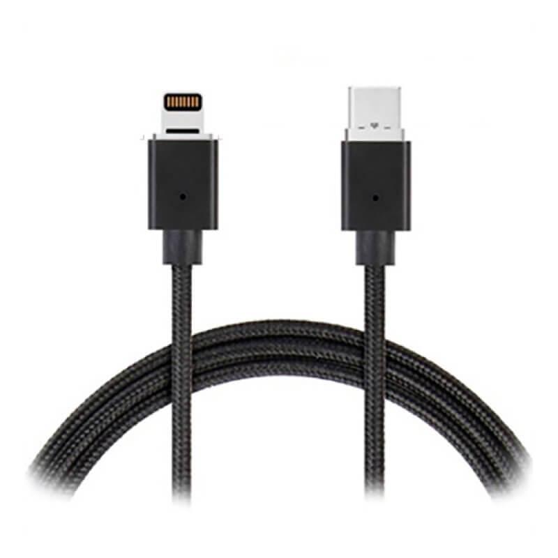 Cabo USB Type-C - Lightning 1 metro - Multi Cor