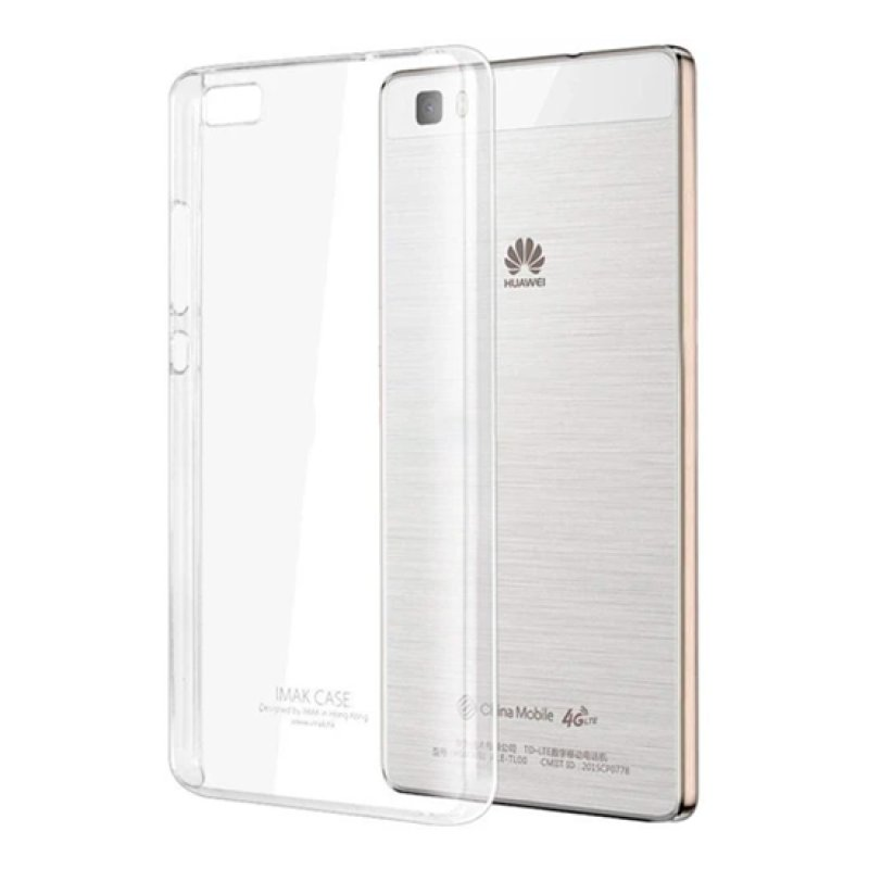 Capa Silicone Anti-Shock Huawei P8 Lite - Transparente