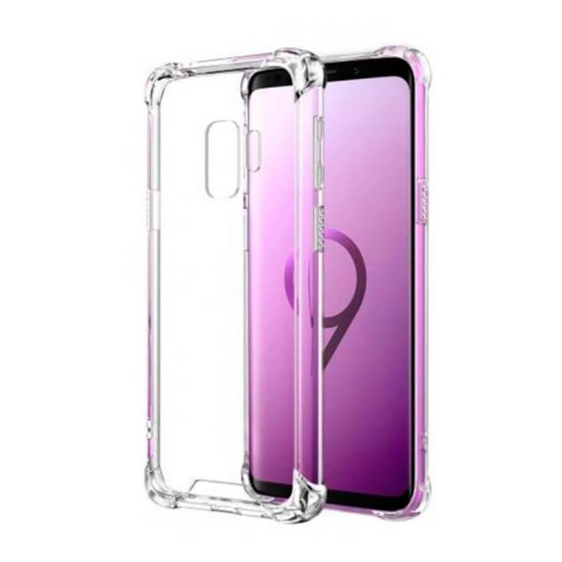 Capa silicone anti choque Samsung Galaxy S9 G960 - Transparente