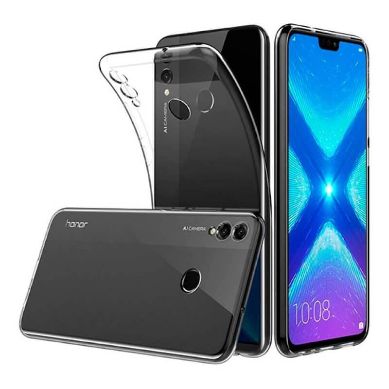 Capa silicone Huawei Honor 8x - Transparente
