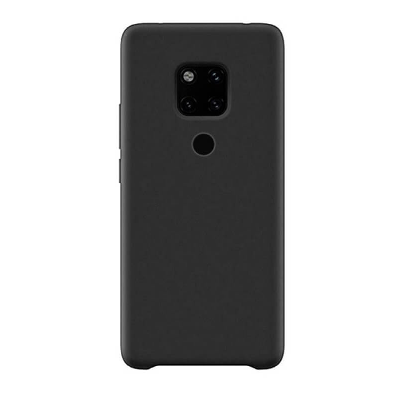 Capa silicone Huawei Mate 20 - Preto