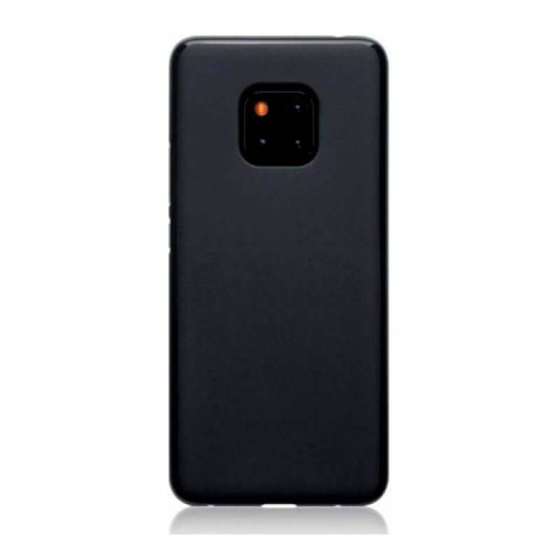 Capa silicone Huawei Mate 20 Pro - Preto