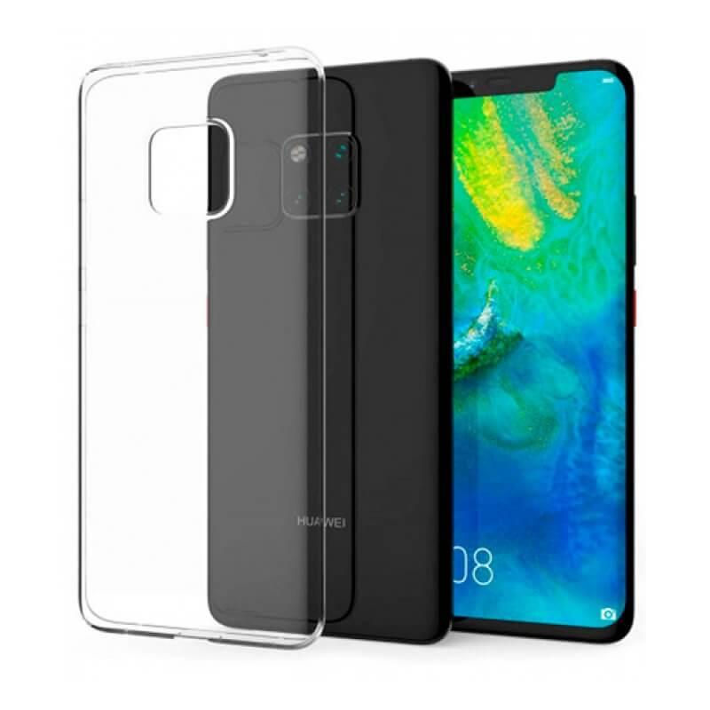 Capa silicone Huawei Mate 20 Pro - Transparente