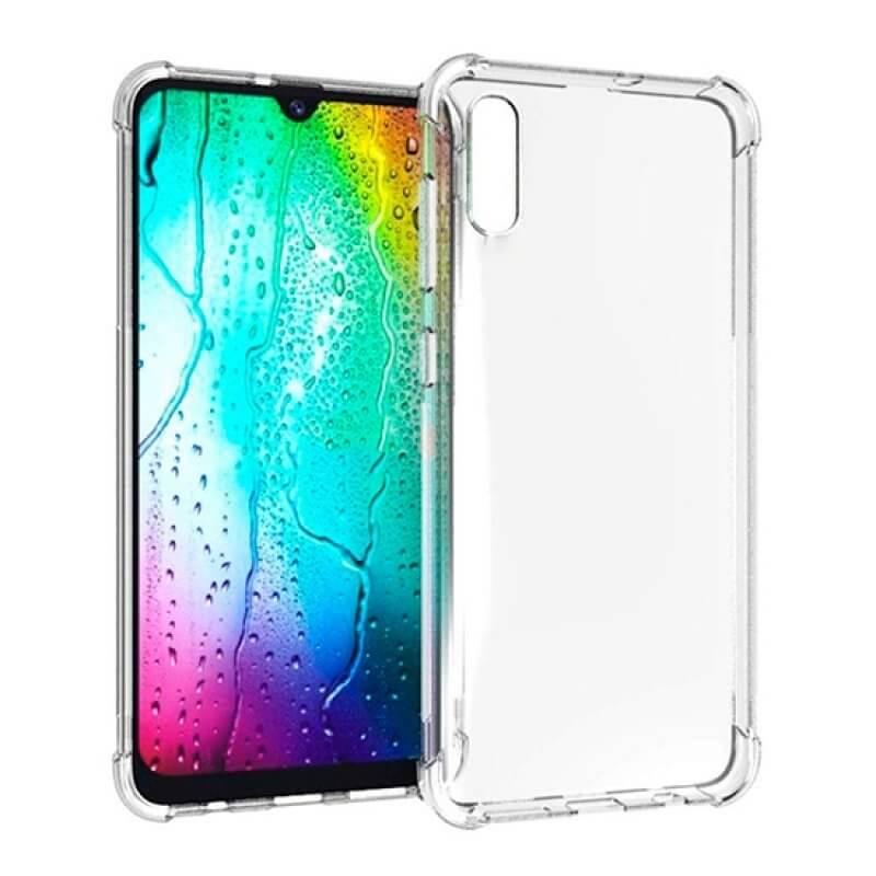 Capa silicone anti choque Samsung Galaxy A70 A705 - Transparente