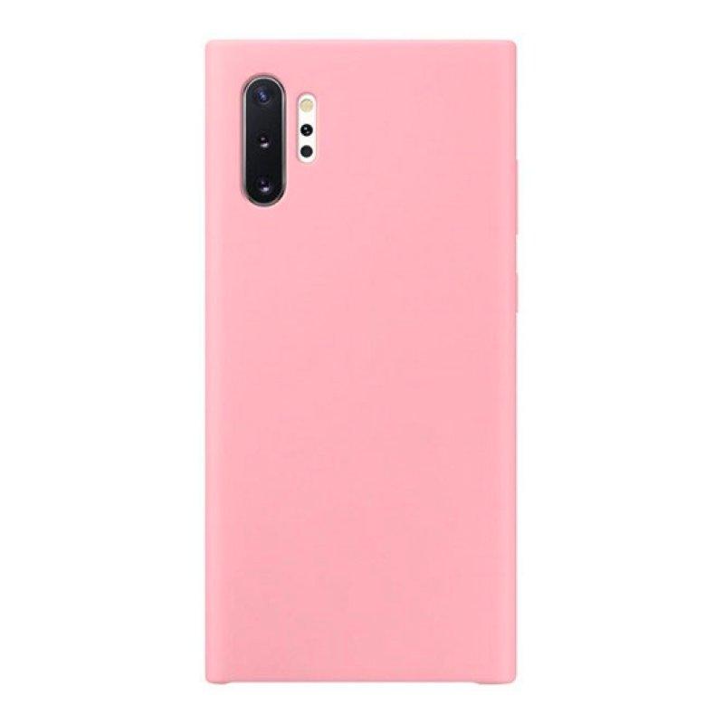 Silicone Cover Samsung Galaxy Note 10 Plus - Rosa