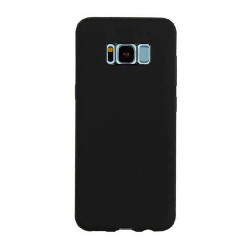 Capa silicone Samsung S8 Plus G955 - Preto