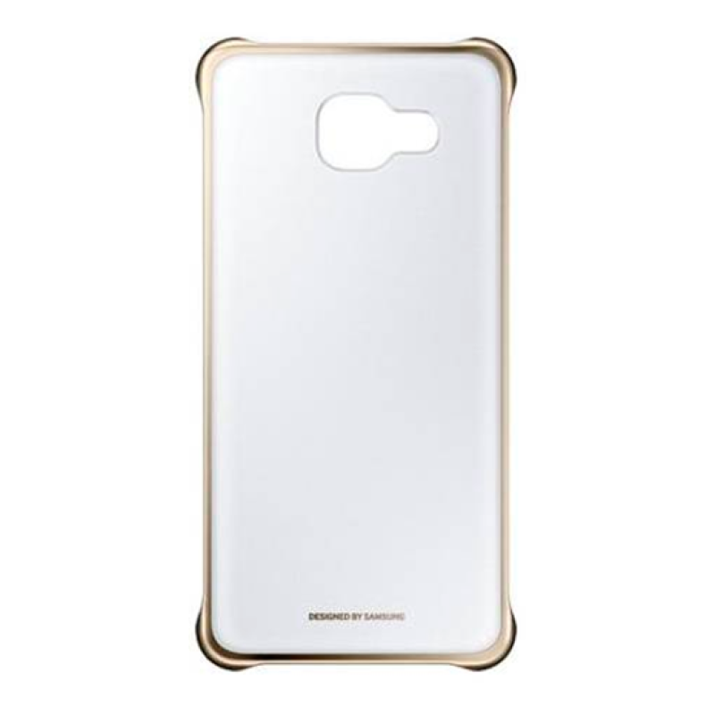 Clear View Cover Samsung A5 A510 2016 - Dourado
