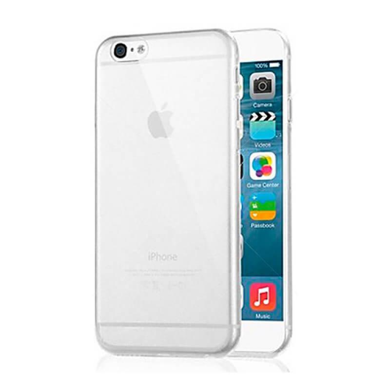 Capa silicone iPhone 6 Plus - Transparente