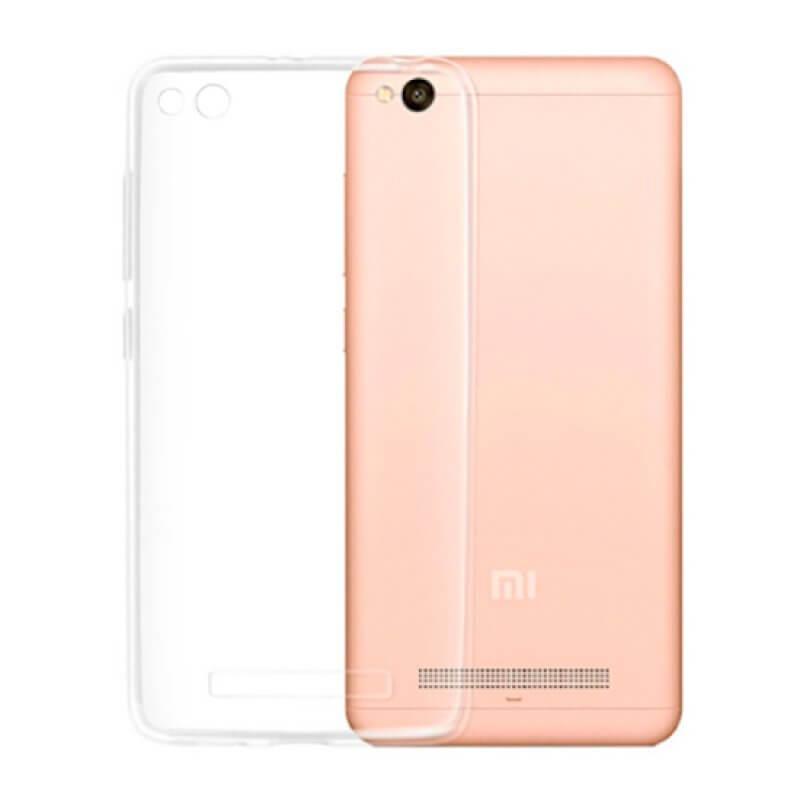 Capa silicone Xiaomi Redmi 4A - Transparente