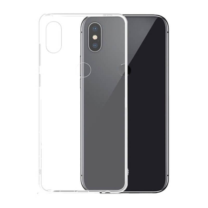 Capa silicone Xiaomi Mi Mix 2S - Transparente