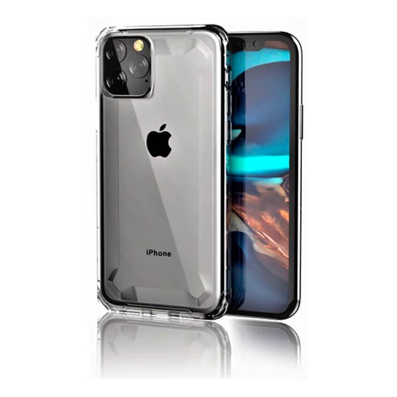 Capa Defender 2 Devia iPhone 11 - Silver/Transparente