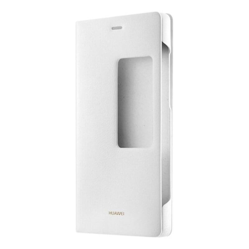 Casa Flip Cover Huawei P8 Window - Branco