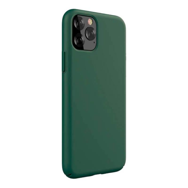 Capa Silicone Devia iPhone 11 Pro - Verde