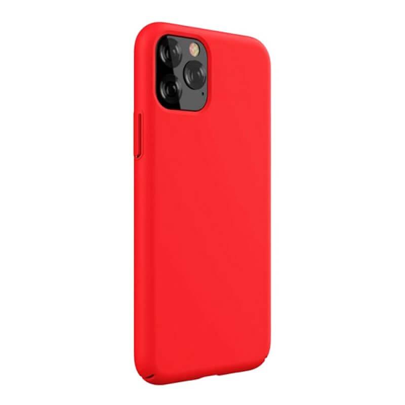 Capa Silicone Devia iPhone 11 Pro - Vermelho