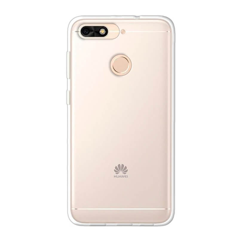 Capa silicone Huawei Honor 7A - Transparente