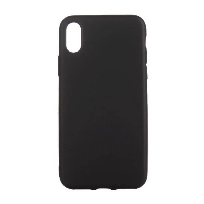 Capa silicone iPhone XS MAX - Preto
