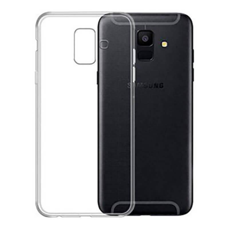 Capa silicone Samsung A6 Plus A605 - Transparente