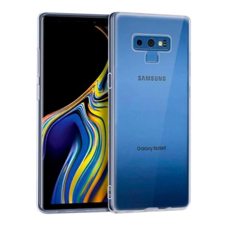 Capa silicone Samsung Galaxy Note 9 N960 - Transparente