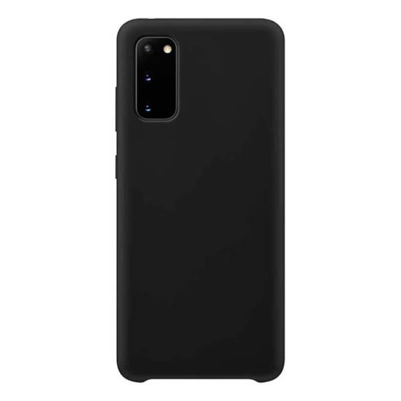Capa Silicone Samsung Galaxy S20 G980 Preto