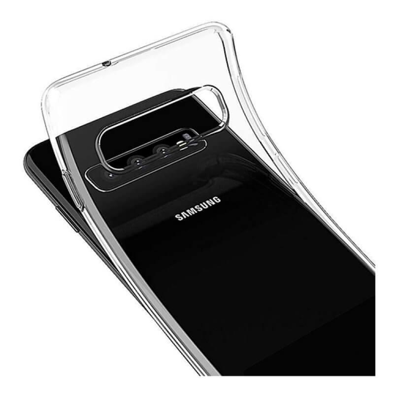 Capa silicone Samsung Galaxy S10 Plus G975 - Transparente