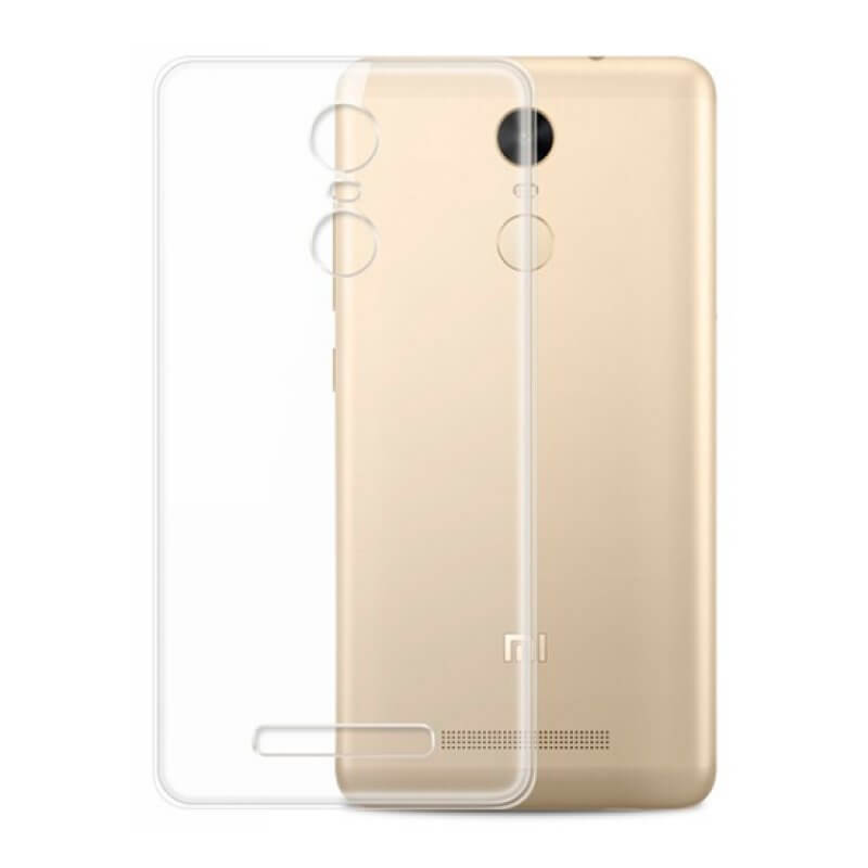 Capa silicone Xiaomi Redmi Note 3 - Transparente