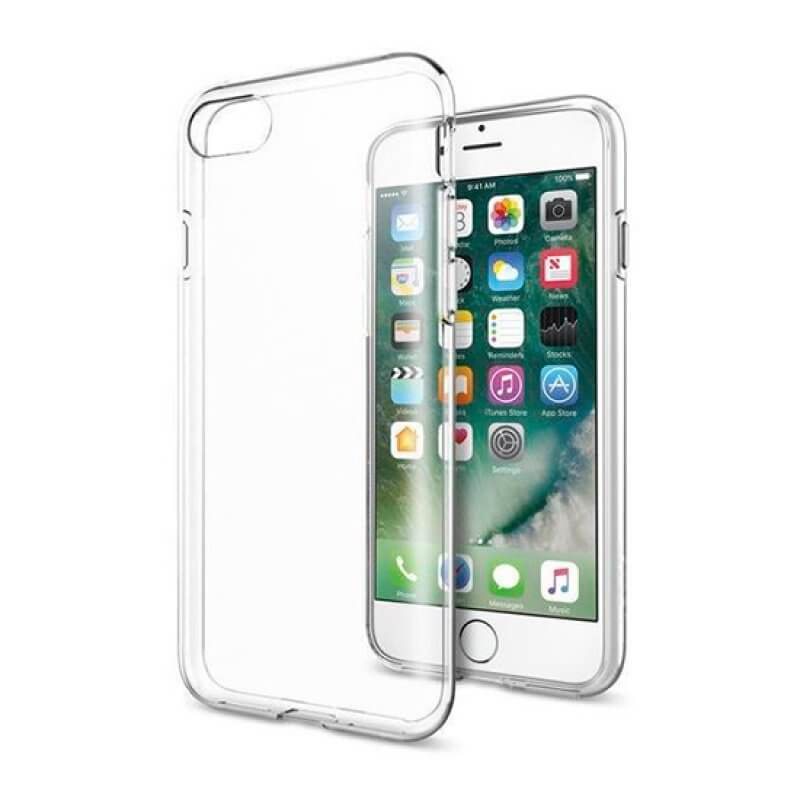 Capa silicone iPhone 7 Plus / 8 Plus - Transparente