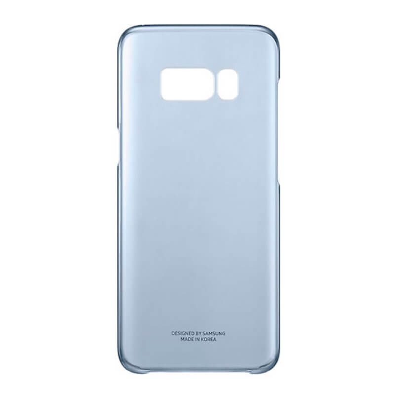 Clear Cover Samsung S8 Plus G955 - Azul