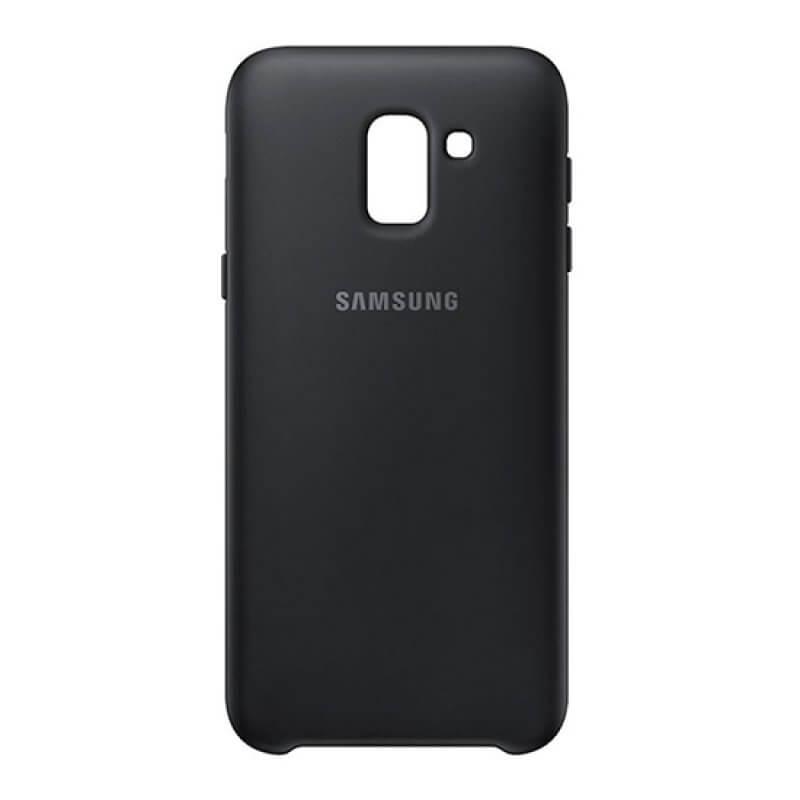 Dual Layer Cover Samsung Galaxy J6 J600 2018 - Preto