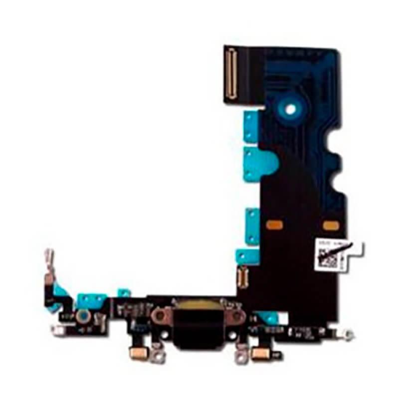 Conetor Carga iPhone 8 - Preto