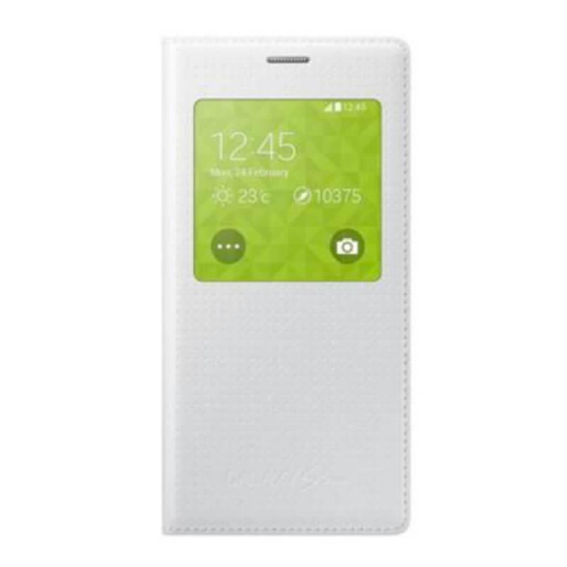 Flip Cover Samsung S5 Mini G800 - Branco