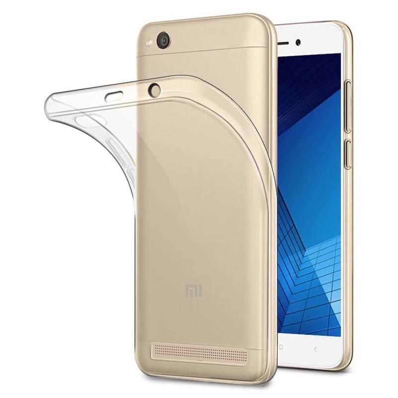 Capa silicone Xiaomi Redmi 5A - Transparente