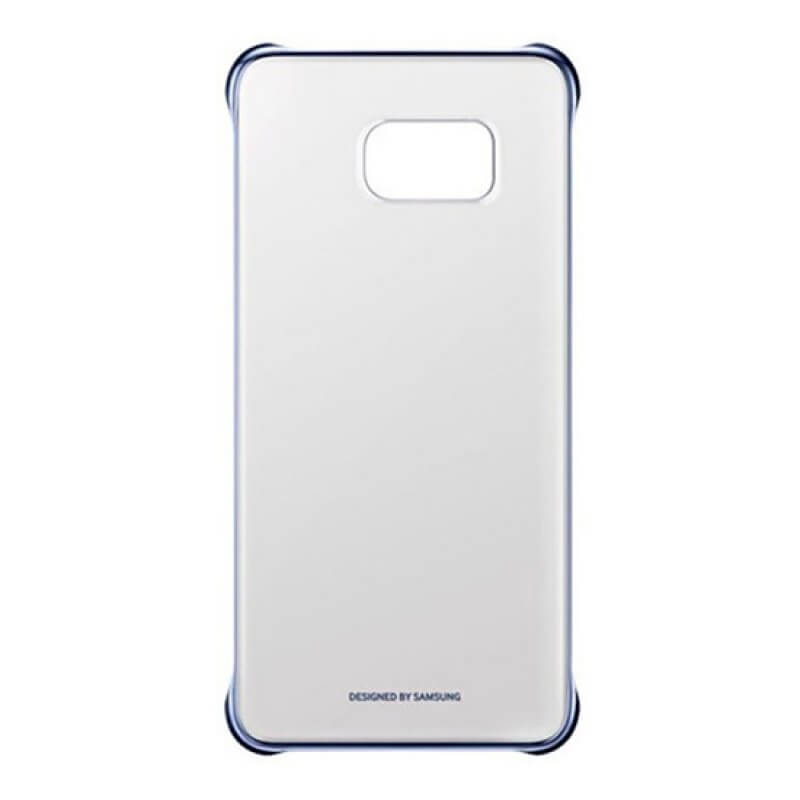Clear View Cover Samsung S6 Edge+ G928F - Preto