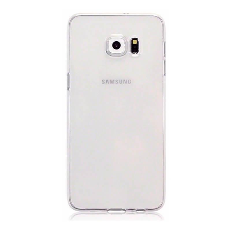 Capa silicone Samsung S6 Edge Plus G928 - Transparente