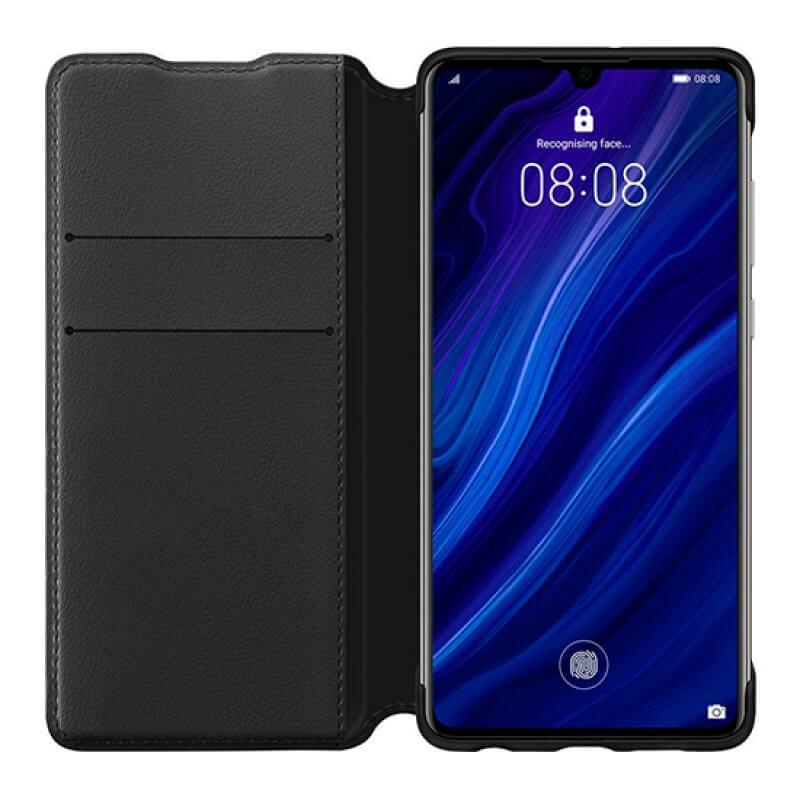 Wallet Cover Huawei P30 - Preto
