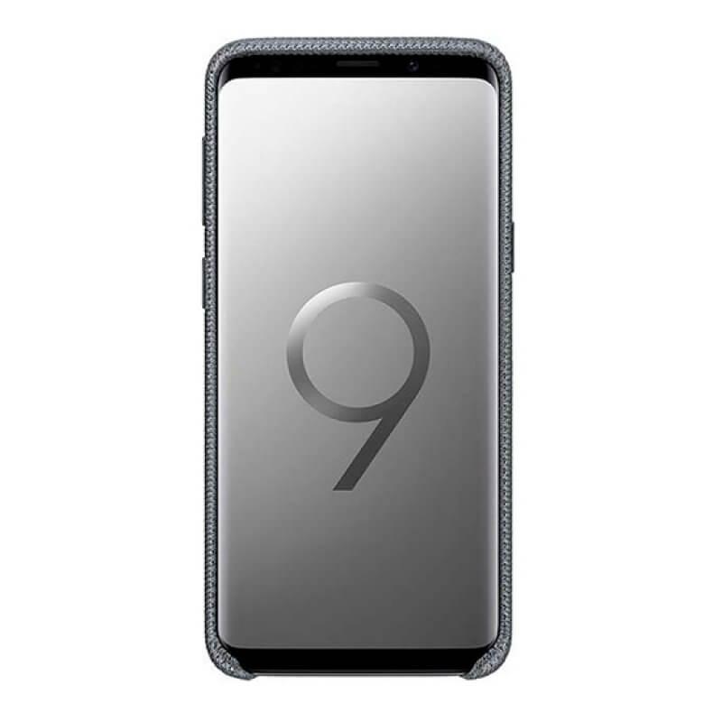 Hyperknit Cover EF-GG965FJ Samsung Galaxy S9+ G965 - Cinzento