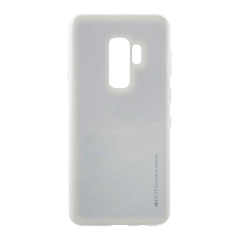 Silicone Mercury i-Jelly Samsung S9+ G965 - Prateado