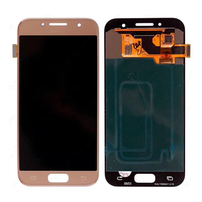 Lcd Samsung Galaxy A3 A320 2017 - Dourado