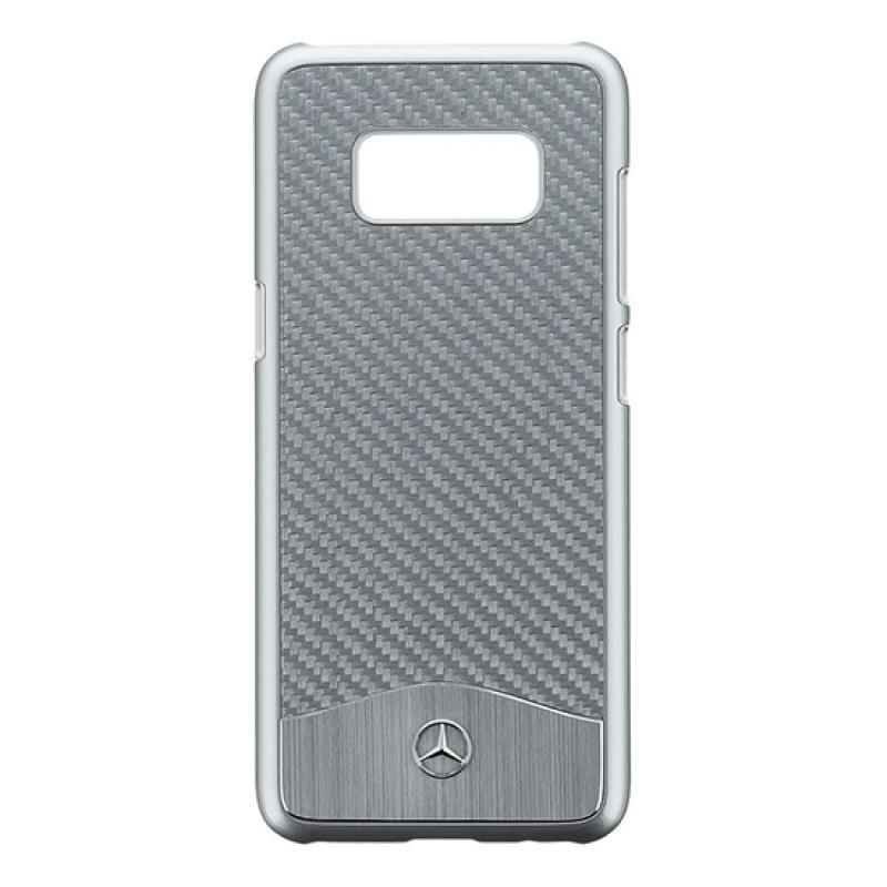 Back Cover Mercedes Samsung S8 Plus G955 - Prateado