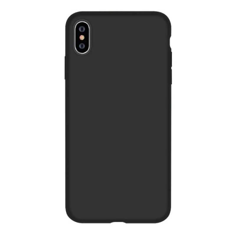 Nature Silicone Case Devia Huawei Y 6S Preto