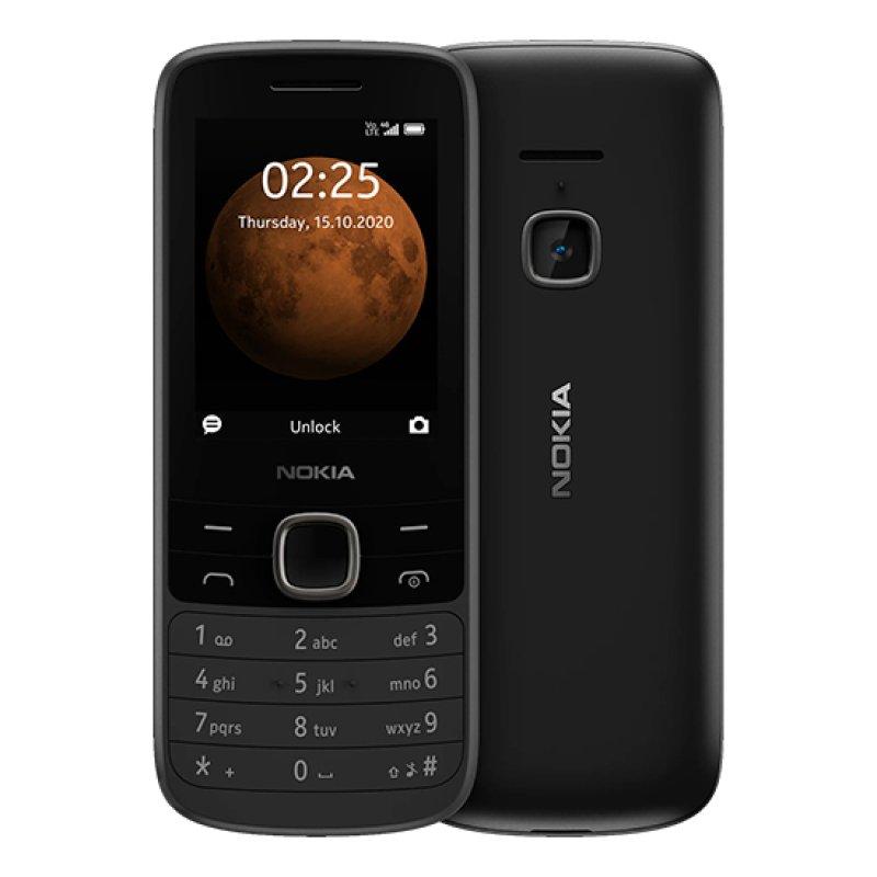 Nokia 225 4G Dual Sim Preto