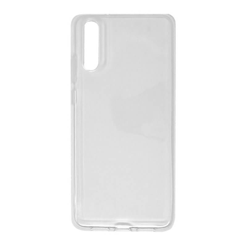 Capa silicone Huawei P20 - Transparente