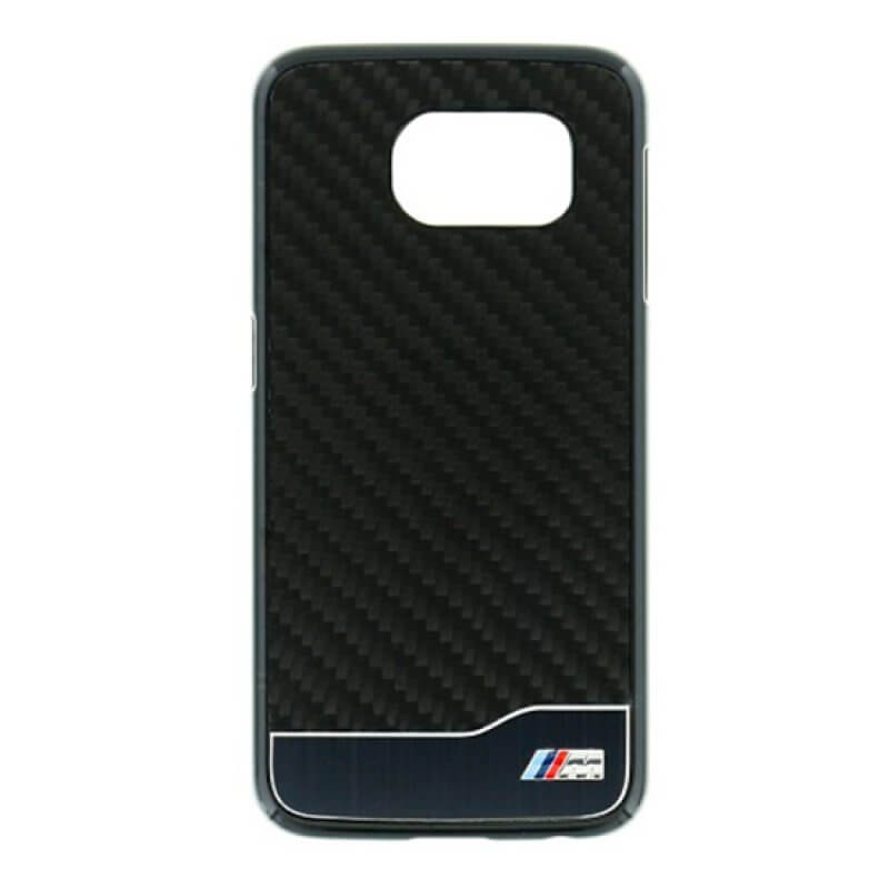 Real Carbon Fiber Case Samsung S6 Bmw - Preto