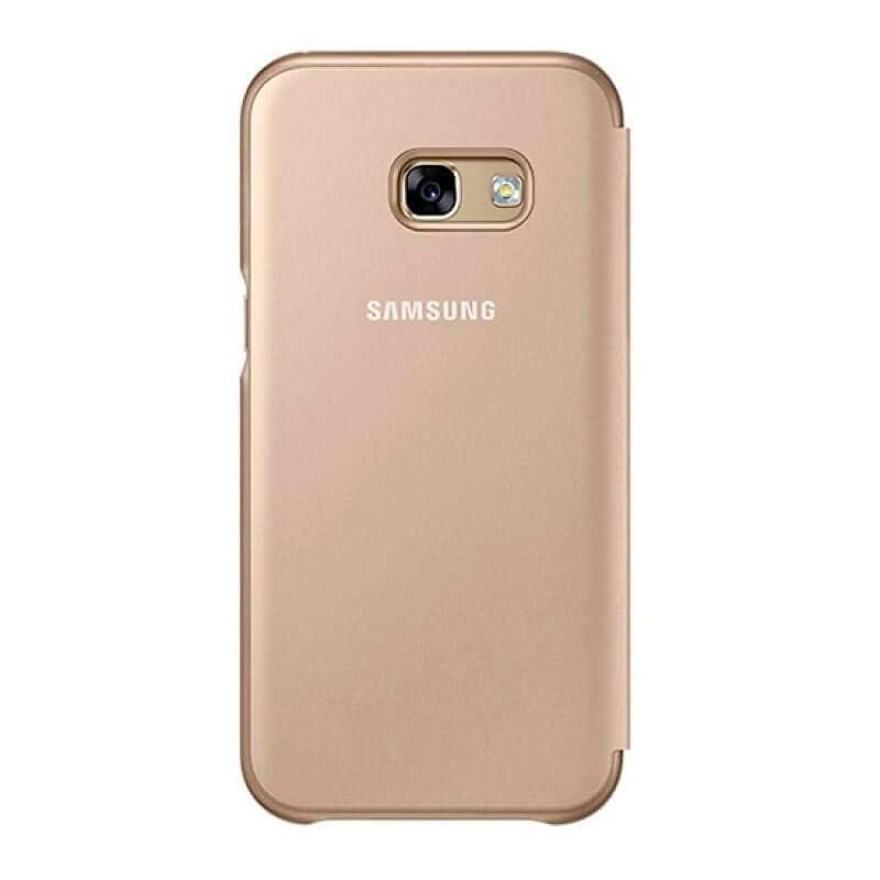 Flip Cover Samsung A3 A320 2017 - Dourado