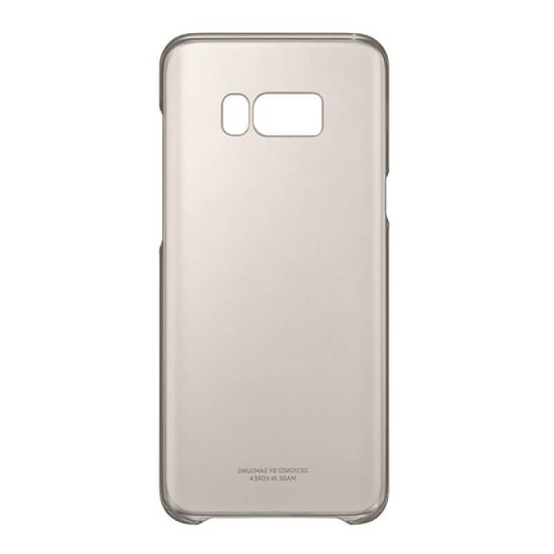 Clear Cover Samsung S8 Plus G955 - Dourado