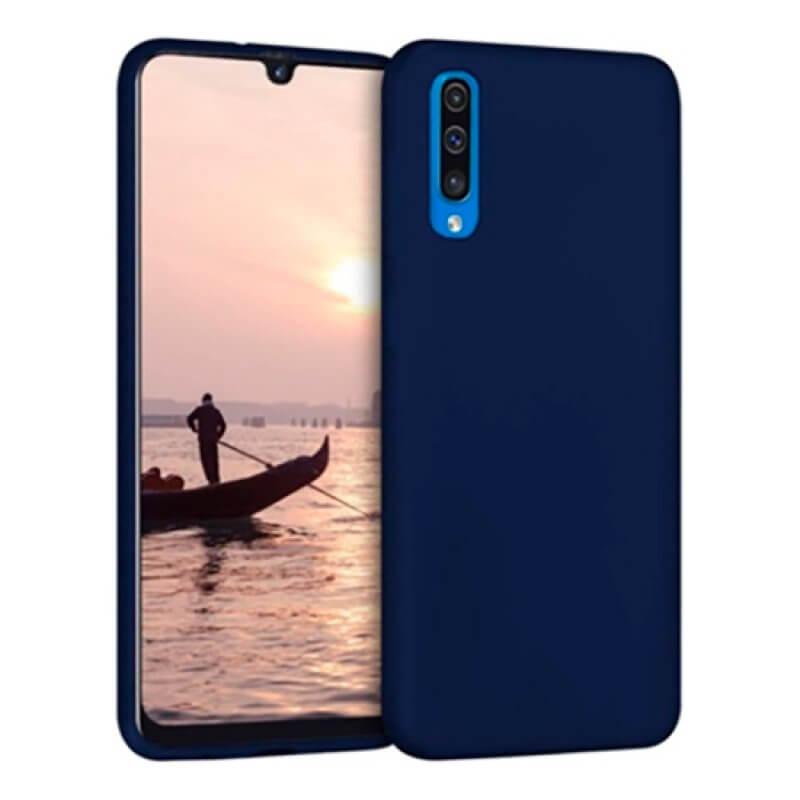 Capa Silicone Samsung Galaxy A50 - Azul