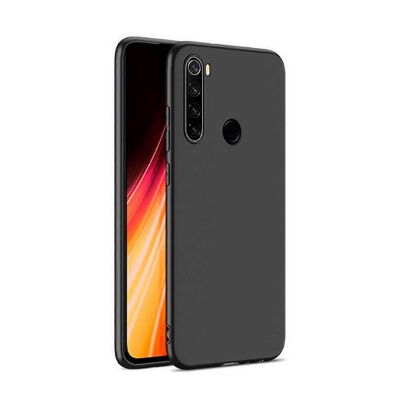 Silicone Cover Xiaomi Note 8T - Preto
