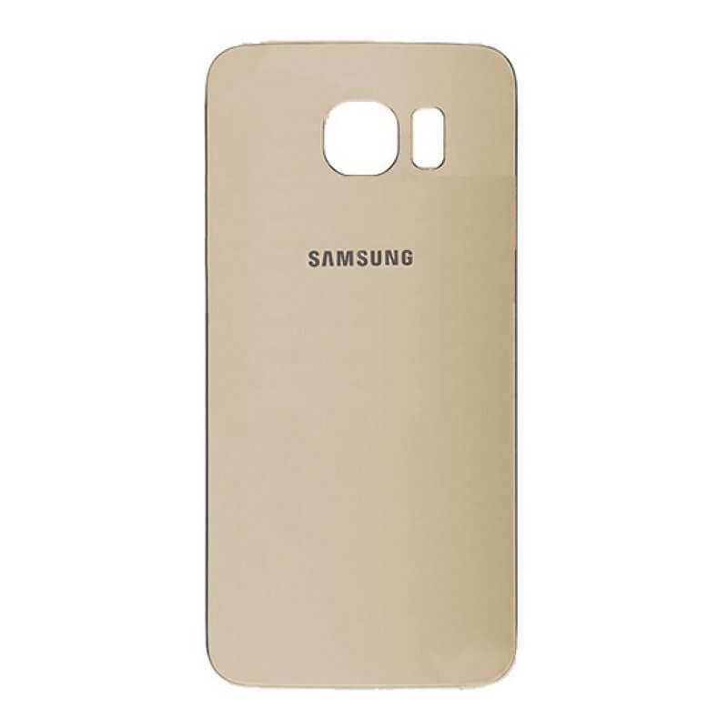 Tampa de Bateria Samsung Galaxy S6 Edge G925 - Dourado